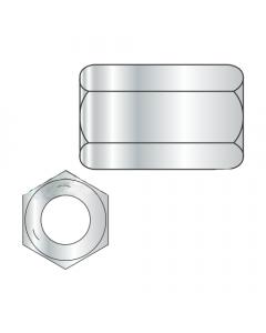 """10-24 X 3/4"""" (5/16"""" AF) Hex Coupling Nuts / Grade 5 / Zinc (Quantity: 1,250 pcs)"""
