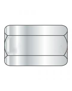 "10-32 X 3/4"" (5/16"" AF) Hex Coupling Nuts / Steel / Zinc (Quantity: 1,000 pcs)"