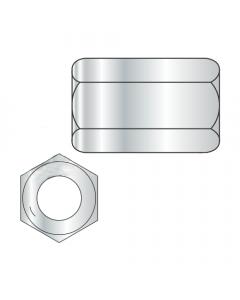 """1/4-20 X 7/8"""" (7/16"""" AF) Hex Coupling Nuts / Grade 5 / Zinc (Quantity: 750 pcs)"""