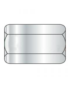 "3/8-24 X 1 1/8"" (1/2"" AF) Hex Coupling Nuts / Steel / Zinc (Quantity: 200 pcs)"