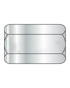 "1/2-20 X 1 1/4"" (5/8"" AF) Hex Coupling Nuts / Steel / Zinc (Quantity: 150 pcs)"