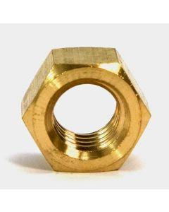 1/4-20 Finished Hex Nuts / Brass (Quantity: 2500)