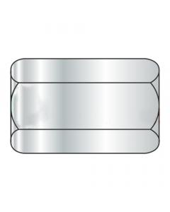 "3/4-10 X 2 1/4"" (1"" AF) Hex Coupling Nuts / Steel / Zinc (Quantity: 50 pcs)"