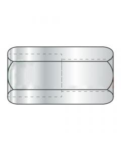 "3/4-10 to 5/8-11 x 1 1/2"" (1"" AF) Reducer Coupling Nuts / Steel / Zinc (Quantity: 50 pcs)"