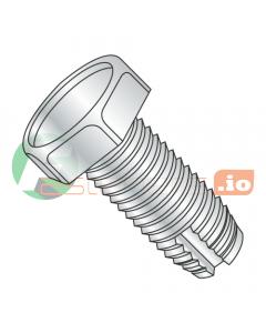 "1/4-20 x 1/2"" Type 1 Thread Cutting Screws / Unslotted / Hex Head / Steel / Zinc (Quantity: 3,000 pcs)"