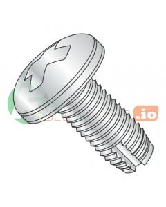 "4-40 x 5/16"" Type 1 Thread Cutting Screws / Phillips / Pan Head / Steel / Zinc (Quantity: 10,000 pcs)"
