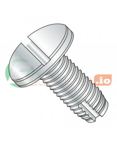 "4-40 x 1/4"" Type 1 Thread Cutting Screws / Slotted / Pan Head / Steel / Zinc (Quantity: 10,000 pcs)"