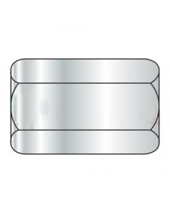"1/2-13 X 1 1/4"" (11/16"" AF) Hex Coupling Nuts / Steel A563 Grade A / Zinc Plated (Quantity: 500)"