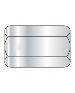 "1-8 X 2 3/4"" (1 3/8"" AF) Hex Coupling Nuts / Steel A563 Grade A / Zinc Plated (Quantity: 50)"