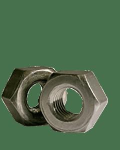 9/16-12 Heavy Hex Nuts / A563 Grade A / Plain (Quantity: 500 pcs)