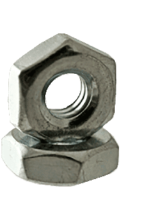 #2-64 Hex Machine Screw Nut / Steel / Zinc Plated (Quantity: 30000 pcs)