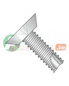 "4-40 x 3/8"" Type 23 Thread Cutting Screws / Phillips / Flat Undercut Head / 18-8 Stainless Steel (Quantity: 5,000 pcs)"