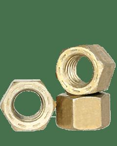 1 1/8-7 Finished Hex Nut / Grade 9 Steel / Cadmium Yellow (Quantity: 100 pcs)