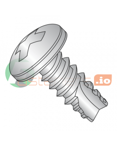"#2 x 1/4"" Type 25 Thread Cutting Screws / Phillips / Pan Head / 18-8 Stainless Steel (Quantity: 5,000 pcs)"
