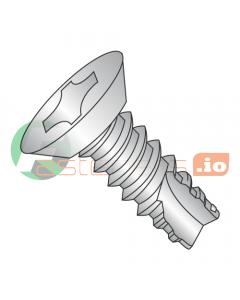 "#4 x 1/4"" Type 25 Thread Cutting Screws / Phillips / Flat Undercut Head / 18-8 Stainless Steel (Quantity: 5,000 pcs)"