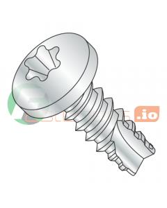 """#2 x 3/16"""" Type 25 Thread Cutting Screws / Six-Lobe (Torx) / Pan Head / Steel / Zinc (Quantity: 10,000 pcs)"""