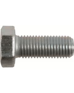 M6-1.0 x 18mm Hex Head Cap Screws, Steel Metric Class 10.9, Zinc Plating (Quantity: 100 pcs) - Coarse Thread Metric, Fully Threaded, Length: 18mm Metric, Thread Size: M6 Metric