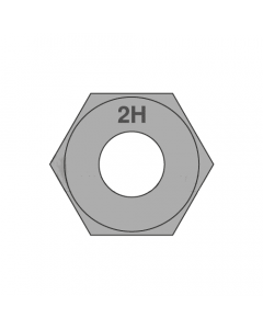 """2 1/4""""-4 1/2 Heavy Hex Nut / A194 2H Steel / Plain (Quantity: 10 pcs)"""