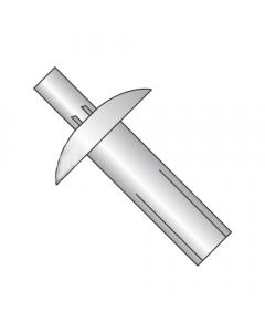 "1/4"" x 3/4"" Brazier Head Drive Pin Rivets / All Aluminum (Quantity: 1,000 pcs)"
