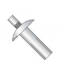 "1/4"" x 1 1/8"" Brazier Head / Masonry Drive Pin Rivets / All Aluminum (Quantity: 1,000 pcs)"