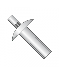 "1/4"" x 1 3/8"" Brazier Head / Masonry Drive Pin Rivets / All Aluminum (Quantity: 1,000 pcs)"