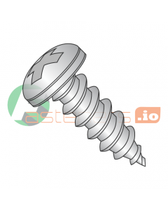 """#3 x 3/16"""" Type AB Self-Tapping Screws / Phillips / Pan Head / 18-8 Stainless Steel (Quantity: 5,000 pcs)"""