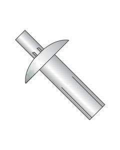 """1/8"""" x 1/8"""" Brazier Head Drive Pin Rivets / Aluminum Body / SS Mandrel (Quantity: 1,000 pcs)"""