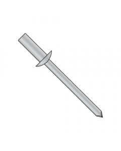"""1/8"""" x .12""""-.18"""" (#43) Closed End Blind Rivets / All Aluminum / Barrel Length: .377"""" (Quantity: 10,000 pcs)"""