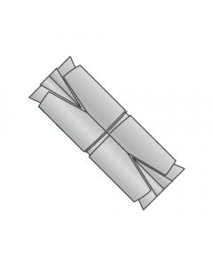 """5/16"""" Double Expansion Anchors / Zinc Alloy / Recommended Hole Diameter: 5/8"""" (Quantity: 50 pcs)"""