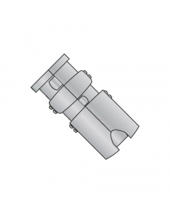 """1/4"""" Single Expansion Anchors / Zinc Alloy / Recommended Hole Diameter: 1/2"""" (Quantity: 50 pcs)"""