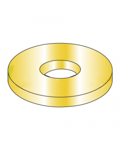 """AN970-8 / 1/2"""" Mil-Spec Flat Washers / Steel / Cad Yellow (Quantity: 200 pcs)"""