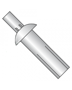 """1/4"""" x 1 1/8"""" Universal Head Drive Pin Rivets / All Aluminum (Quantity: 1,000 pcs)"""
