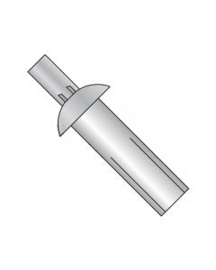 """1/8"""" x 1/4"""" Universal Head Drive Pin Rivets / Aluminum Body / SS Mandrel (Quantity: 1,000 pcs)"""