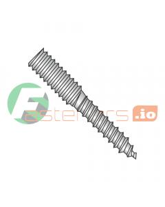 "5/16-18 x 2 1/2"" Full Thread Hanger Bolts / 18-8 Stainless Steel (Quantity: 100 pcs)"