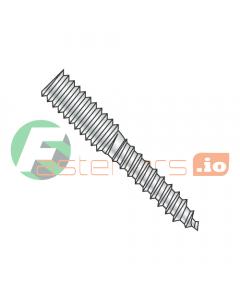 "1/4-20 x 2 1/4"" Full Thread Hanger Bolts / Steel / Zinc (Quantity: 1,000 pcs)"
