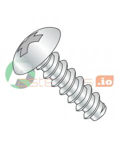 """#4 x 1/4"""" Type B Self-Tapping Screws / Phillips / Truss Head / Steel / Zinc (Quantity: 10,000 pcs)"""