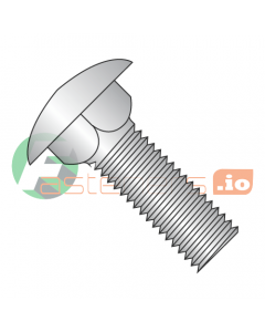 """1/4-20 x 1/2"""" Carriage Bolts / 18-8 Stainless Steel (Quantity: 1,000 pcs)"""