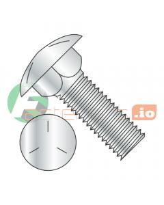 """1/2-13 x 7 1/2"""" Carriage Bolts / Full Thread / Grade 5 / Zinc (Quantity: 50 pcs)"""