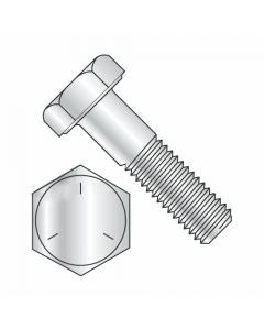 "Hex Bolts, Grade 5 Zinc Plated, 3/8""-24 x 5/8"" (Quantity: 100 pcs) Fully Threaded UNF Thread (Thread 3/8"") x (Length: 5/8"")"