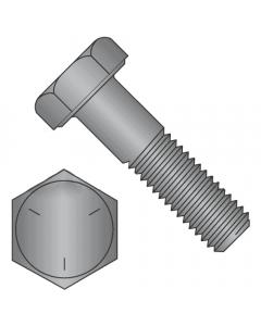 "Hex Bolts, Grade 5 Plain Finish, 3/8""-16 x 3 1/2"" (Quantity: 50 pcs) Made in USA, Partially Threaded UNC Thread (Thread 3/8"") x (Length: 3 1/2"")"