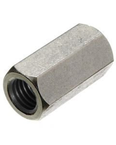 """1 1/2""""-6 x 3 1/2"""" (2"""" AF) Hex Coupling Nuts / 316 Stainless Steel (Quantity: TRUE"""