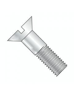 "7/8""-9 x 5"" Slotted Head Cap Screws / Flat Countersunk / Grade 2 / Slotted Drive / Steel / Plain Finish (Quantity: 15 pcs)"