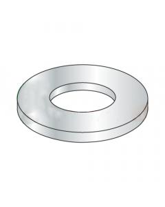 M3.5 Flat Washers / Steel / Zinc / DIN125A / Outer Diameter: 7.64 - 8 mm / Thickness Range : .45 - .55 mm (Quantity: 10,000 pcs)