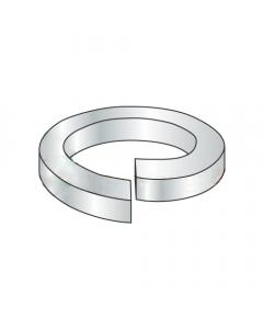 M2.5 Split Lock Washers / Steel / Zinc / DIN127B / Outer Diameter: 5.1 mm / Thickness: .060 mm (Quantity: 15,000 pcs)