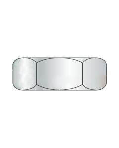 M10-1.5 Hex Jam Nuts / Steel / Zinc / DIN439 / Width Across Flats: 17 mm / Thickness: 5 mm (Quantity: 1,000 pcs)