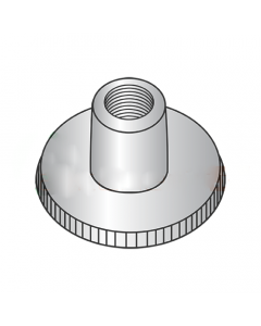 M6-1.0 Knurled Thumb Nuts / High Type / 18-8 Stainless Steel (Quantity: 250 pcs)
