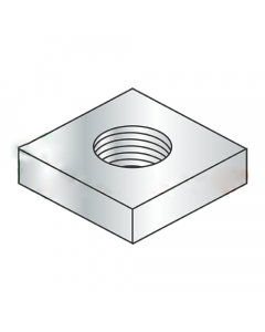 M5-0.8 Thin Square Nuts / 18-8 Stainless Steel / DIN 562 (Quantity: 3000)