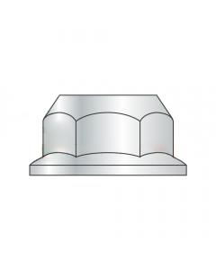M10-1.5 Hex Flange Nuts / Non-Serrated / Class 10 / Zinc / DIN6923 (Quantity: 1,000 pcs)