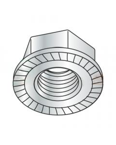 M16-2.0 Hex Flange Locknuts / Serrated / Class 8 / Zinc / DIN6923 (Quantity: 300 pcs)