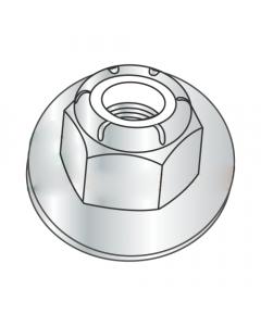 M20-2.5 Flange Style Nylon Insert Locknuts / Class 8 / Zinc / DIN6926 (Quantity: 100 pcs)